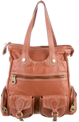 Marc by Marc Jacobs Distressed Leather Tote $145 thestylecure.com