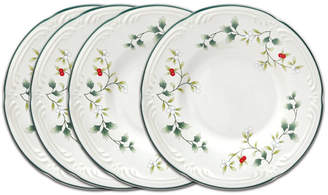Pfaltzgraff Winterberry Appetizer Plate, Set Of 4