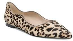 Sam Edelman Rosalie Faux Fur Leoppard Ballet Flats