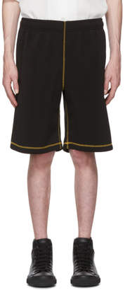 Our Legacy Black Light Drape Scuba Shorts