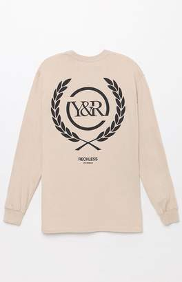 Young & Reckless Crest Long Sleeve T-Shirt