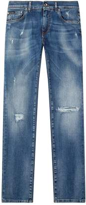 Dolce & Gabbana Distressed Classic Jeans