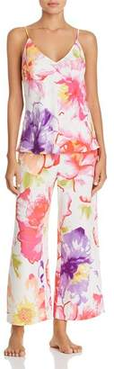 Natori Soleil Satin Cami Pajama Set