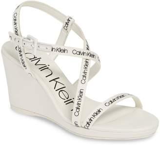 Calvin Klein Bellemine Slingback Wedge Sandal