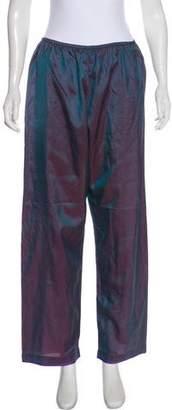 Dosa Silk Wide-Leg Pants