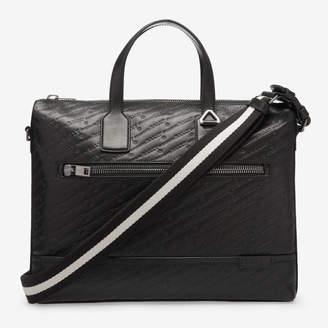 Bally Tammi Black, Men's calf leather business bag in black