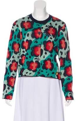 Kenzo Embellished Button-Up Cardigan