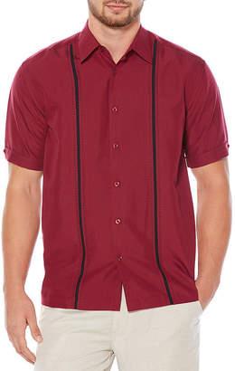 Cubavera Short Sleeve Pickstitch Shirt