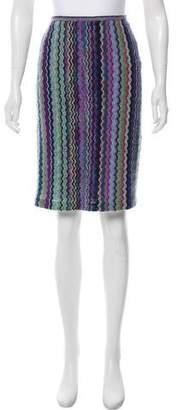 Missoni Crocheted Chevron Skirt
