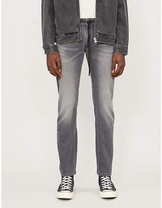 7 For All Mankind Ronnie J Luxe straight hybrid jeans