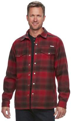 Columbia Men's Fireside Flame II Plaid Shirt Jacket