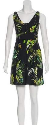 Proenza Schouler Printed Mini Dress