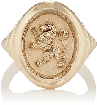 RETROUVAI Women's Grandfather Fantasy Signet Ring