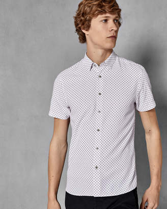 Ted Baker SHORPOL Soft touch geo shirt