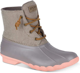 Sperry Women Saltwater Duck Booties Women Shoes