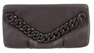 Michael Kors Chain-Link Envelope Clutch
