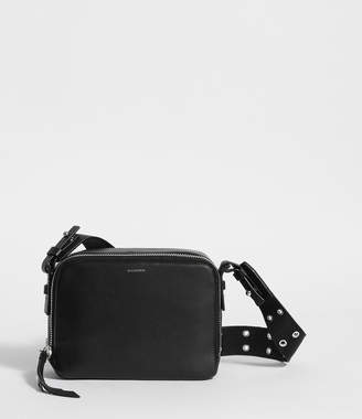 AllSaints Sid Leather Fanny Pack Crossbody Bag