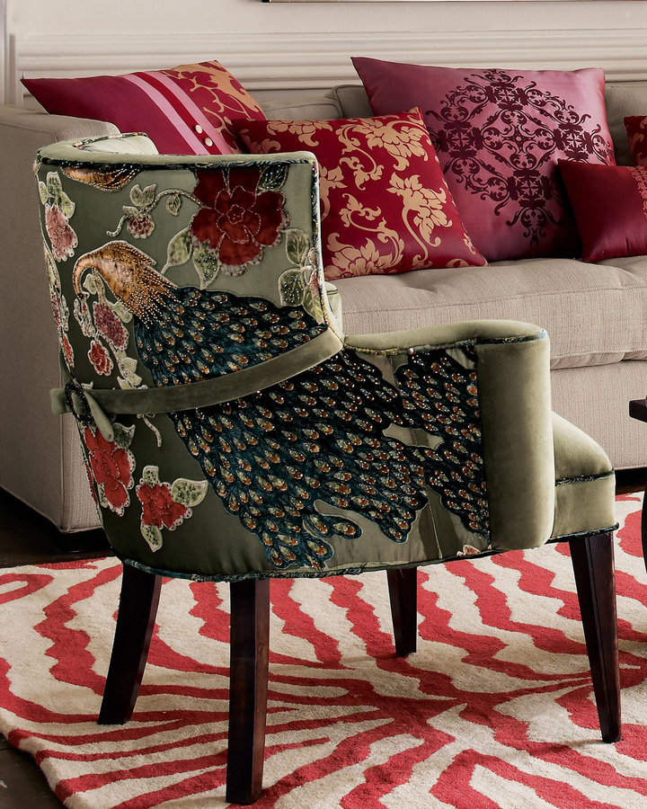 Haute House Peacock Chair