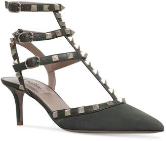 Valentino Leather So Noir Rockstud Pumps 65