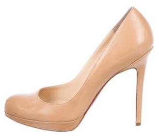 Christian Louboutin Leather New Simple Pumps