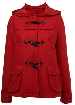 Red Short Duffle Coat