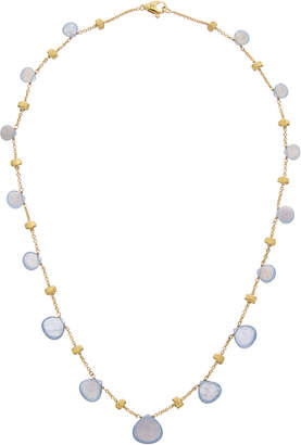 Marco Bicego Paradise 18K Yellow Gold Chalcedony Necklace