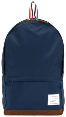 Thom Browne Unstructured Backpack In Nylon Tech And Suede