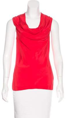 Trina Turk Silk Sleeveless Top