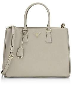 Prada Women's Large Galleria Leather Tote