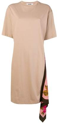 MSGM asymmetric T-shirt dress