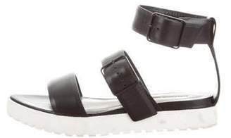 Alexander Wang Leather Buckle Sandals