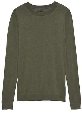 b2e5432e8ee0b Banana Republic Silk Cashmere Crew-Neck Sweater