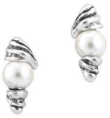 Uno de 50 Oasis Silver Stud Earrings