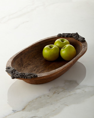 GG Collection G G Collection Antiquity Small Oval Bowl