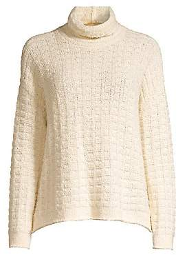 Eileen Fisher Women's Speciality Stitch Waffle Knit Sweater