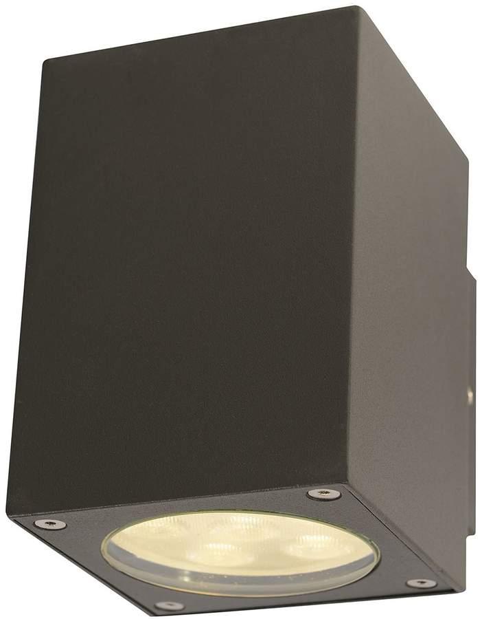 EEK A+, LED-Außen-Wandleuchte Down 12-flammig