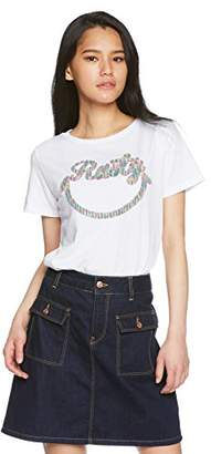 Rusty (ラスティ) - (ラスティ) RUSTY(ラスティ) レディースTシャツ 機能付きTシャツ デザインTシャツ 938507 WHT ホワイト L