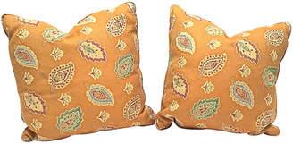 One Kings Lane Vintage Paisley Pillows - Set of 2 - Vermilion Designs
