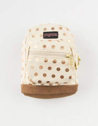 JanSport Right Pouch Gold Polka Dot Pouch