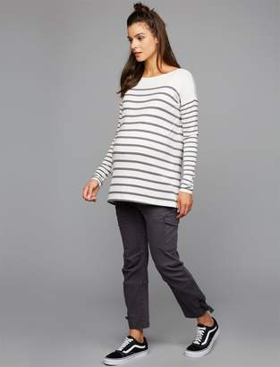 A Pea in the Pod Under Belly Twill Skinny Leg Maternity Pants