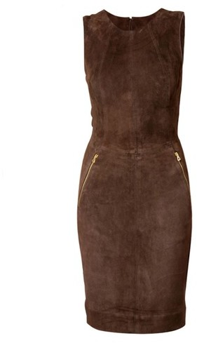 L'Agence Suede Dress