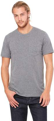 B.ella + Canvas Men's Jersey Short-Sleeve Pocket T-Shirt