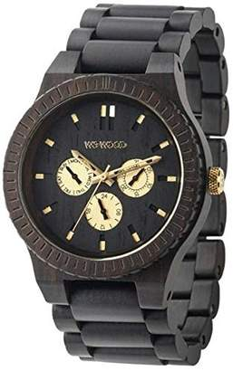 WeWood watch Wood / wood multi-function KAPPA BLACK RO 9818054 Men's [regular imported goods]
