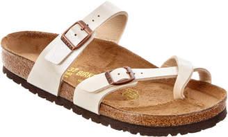 Birkenstock Mayari Birko-Flor Leather Sandal