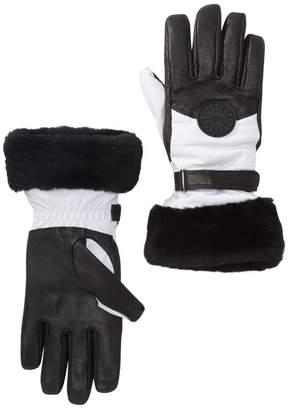 UGG Genuine Shearling Cuff Performance Smart Gloves