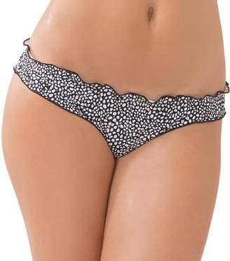 Smart & Sexy Smart+Sexy Women's Swim Secret Ruffled and Ruched Back Bikini Bottom