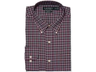 Lauren Ralph Lauren Non Iron Classic Fit Dress Shirt Men's Long Sleeve Button Up