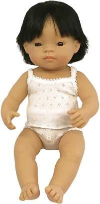 Miniland Baby Doll Asian Boy, 38 cm