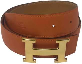 Hermes H Multicolour Leather Belts