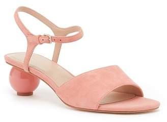 Pour La Victoire Dora Leather Sphere Heel